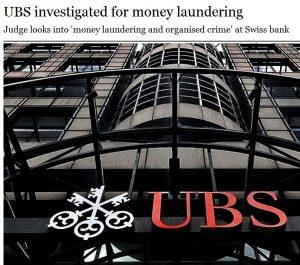UBS under investigation.  Again