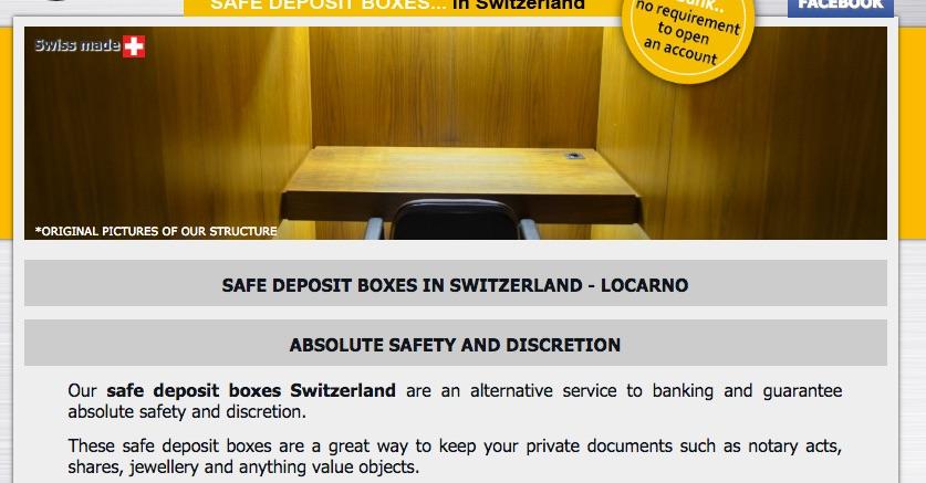 Safe boxes