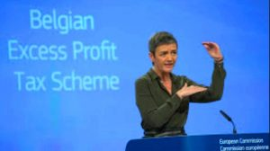 The European Commissioner challenges Belgium's distortive tax regime