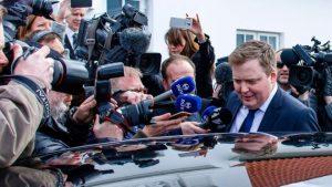 Iceland's Prime Minister steps down