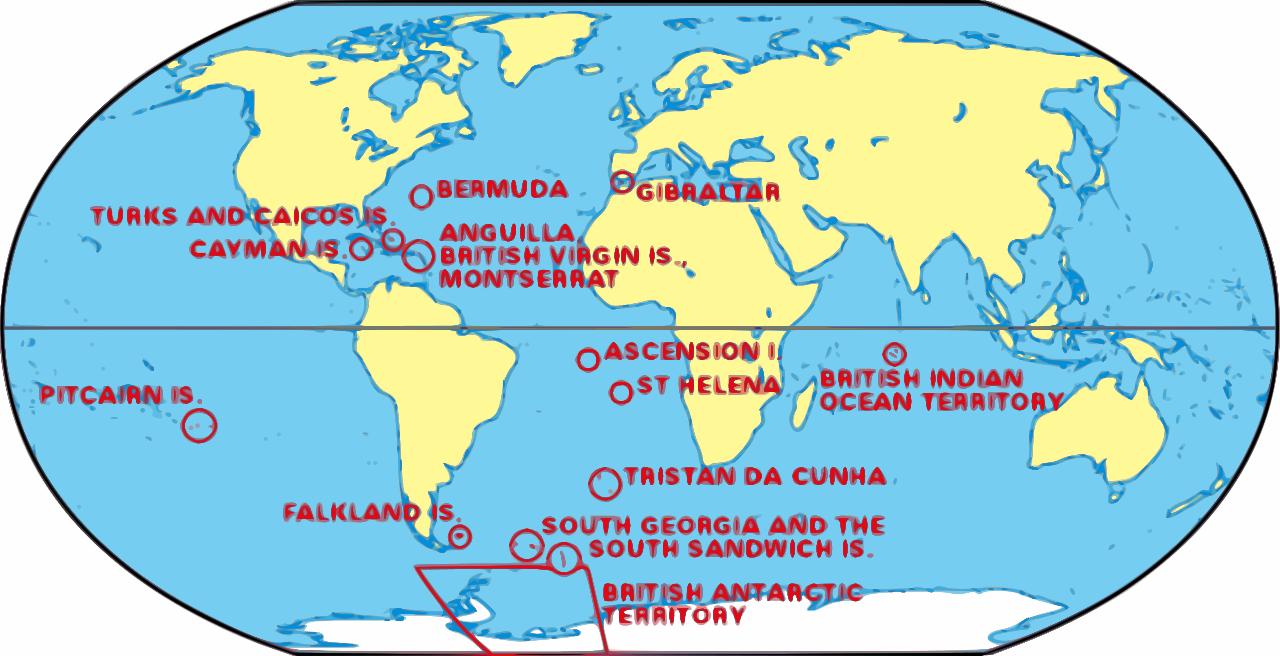 Map Of Uk Overseas Territories.Uk Overseas Territories Fight Back Against Financial Transparency