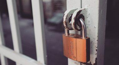 locked gate door
