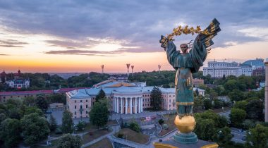 The Independence Statue, Kiev